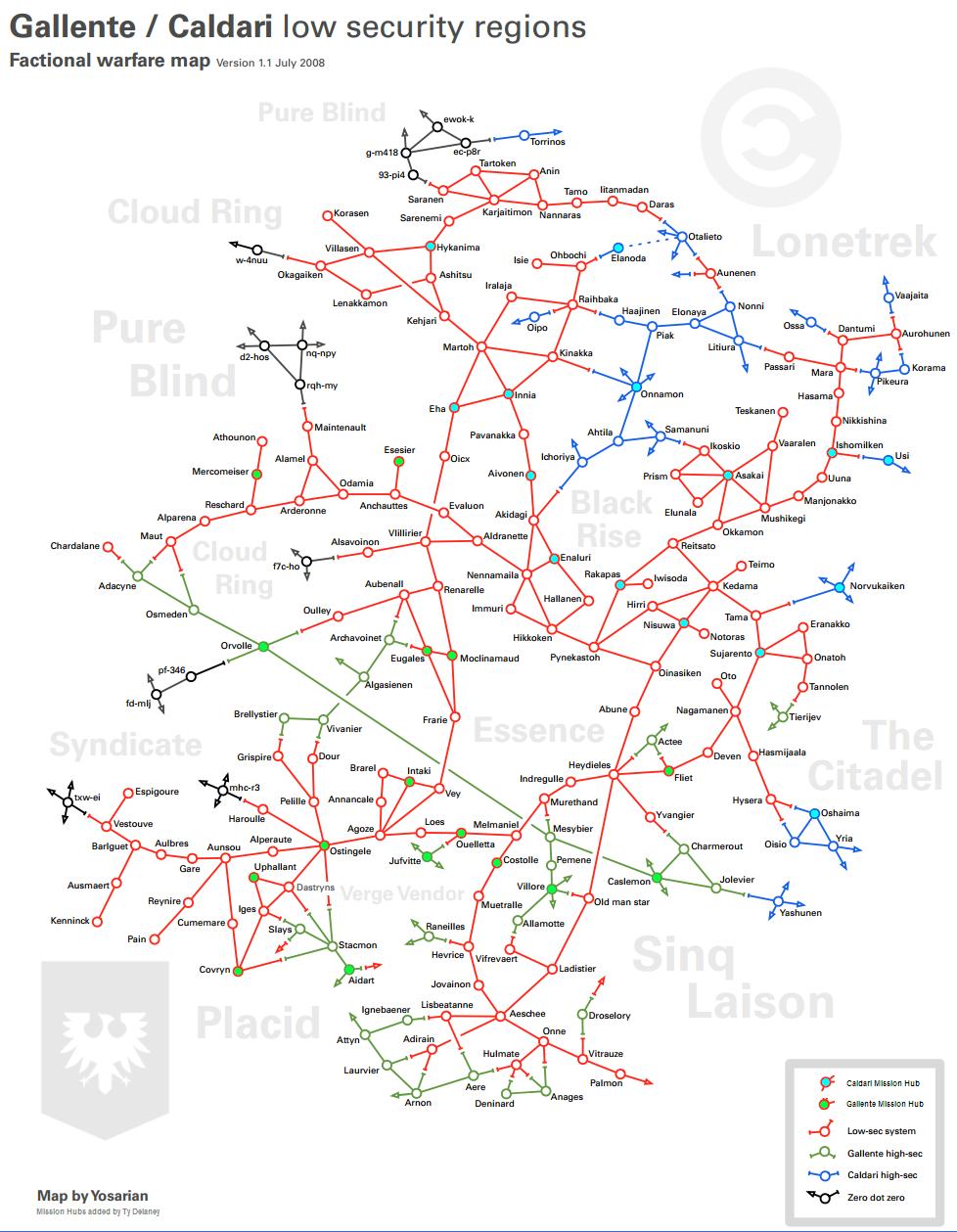 Dotlan Maps on