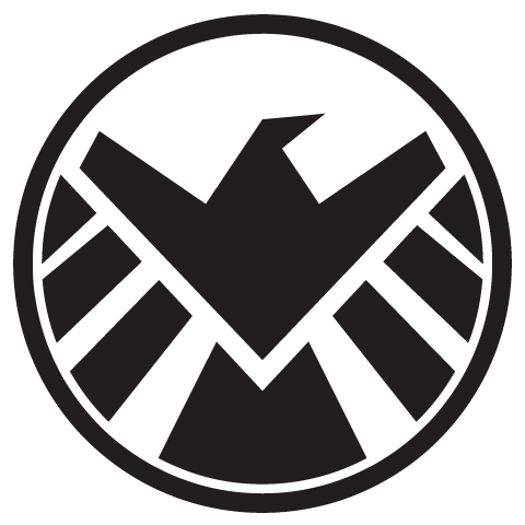 Shield Logo #1. Note the crisp, clean, and most of a STRAIGHT lines.